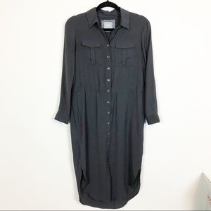 Anthropologie | Maeve Button Down Shirt Dress